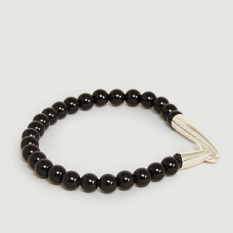 Bracelet Perles Onyx - Orner
