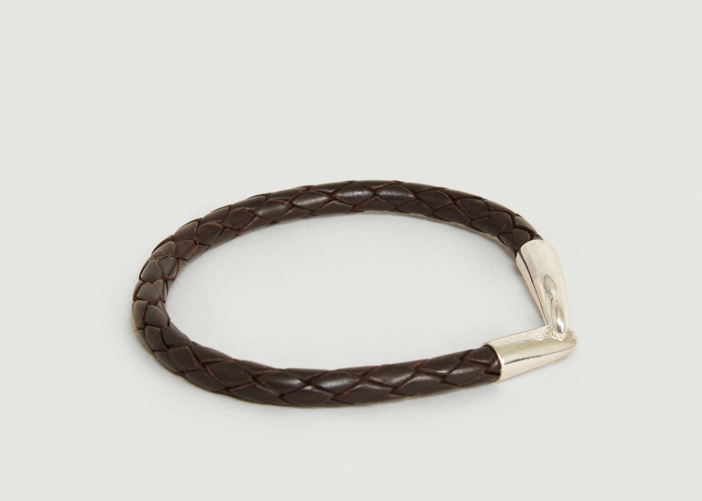 Bracelet Cuir Tressé - Orner
