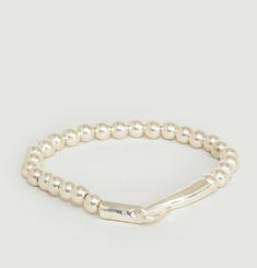 Bracelet Perles Argent 925 et Fermoir Limpide