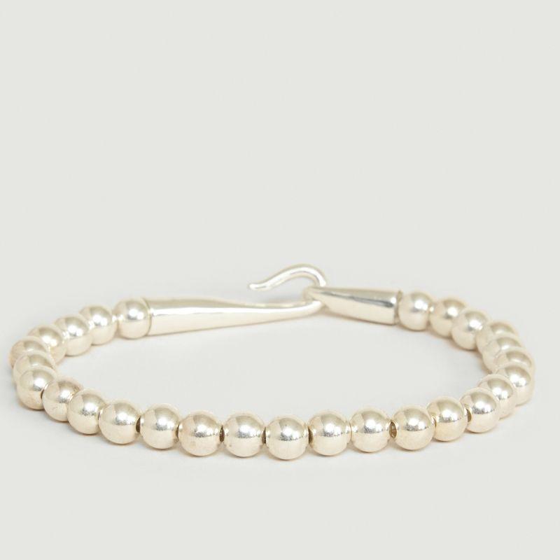 Bracelet Perles Argent 925 et Fermoir Limpide - Orner