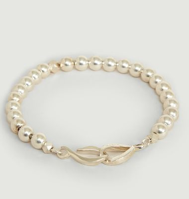 925 Silver Pearl Bracelet and Infinite Clasp