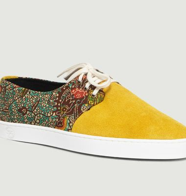 Sneakers Bi-Matière Alizé