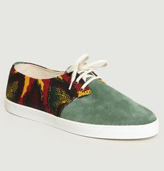 Alize Suede Low Top Trainers