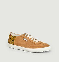 Sneakers Bi-Matière Harmattan - Cannelle