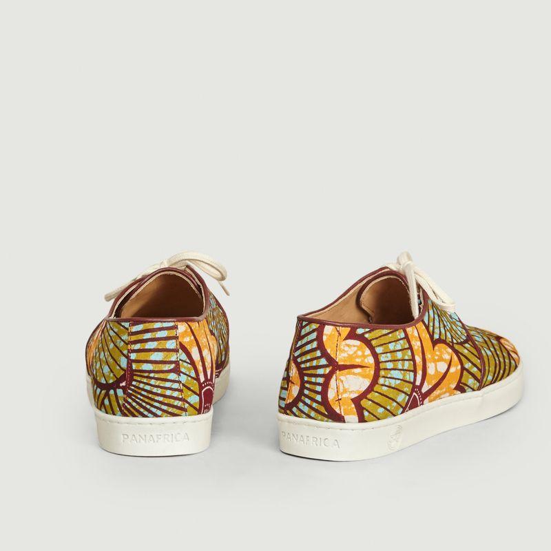 Sneakers en toile wax Constantine - Panafrica