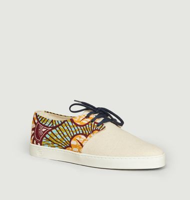 Sneakers en toile de coton San Pedro