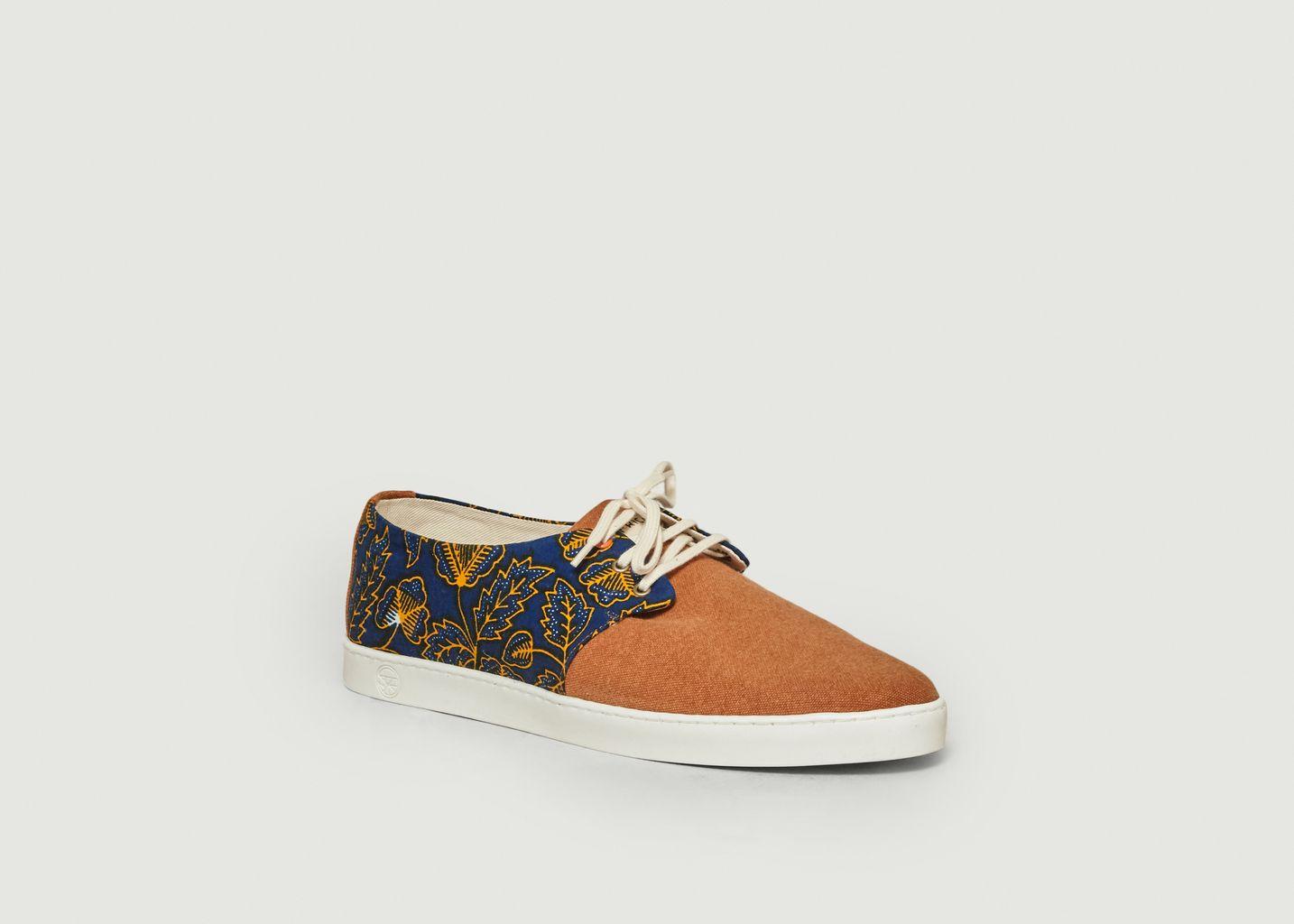 Sneakers en toile Lomé - Panafrica