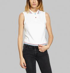 Anne Cropped Polo