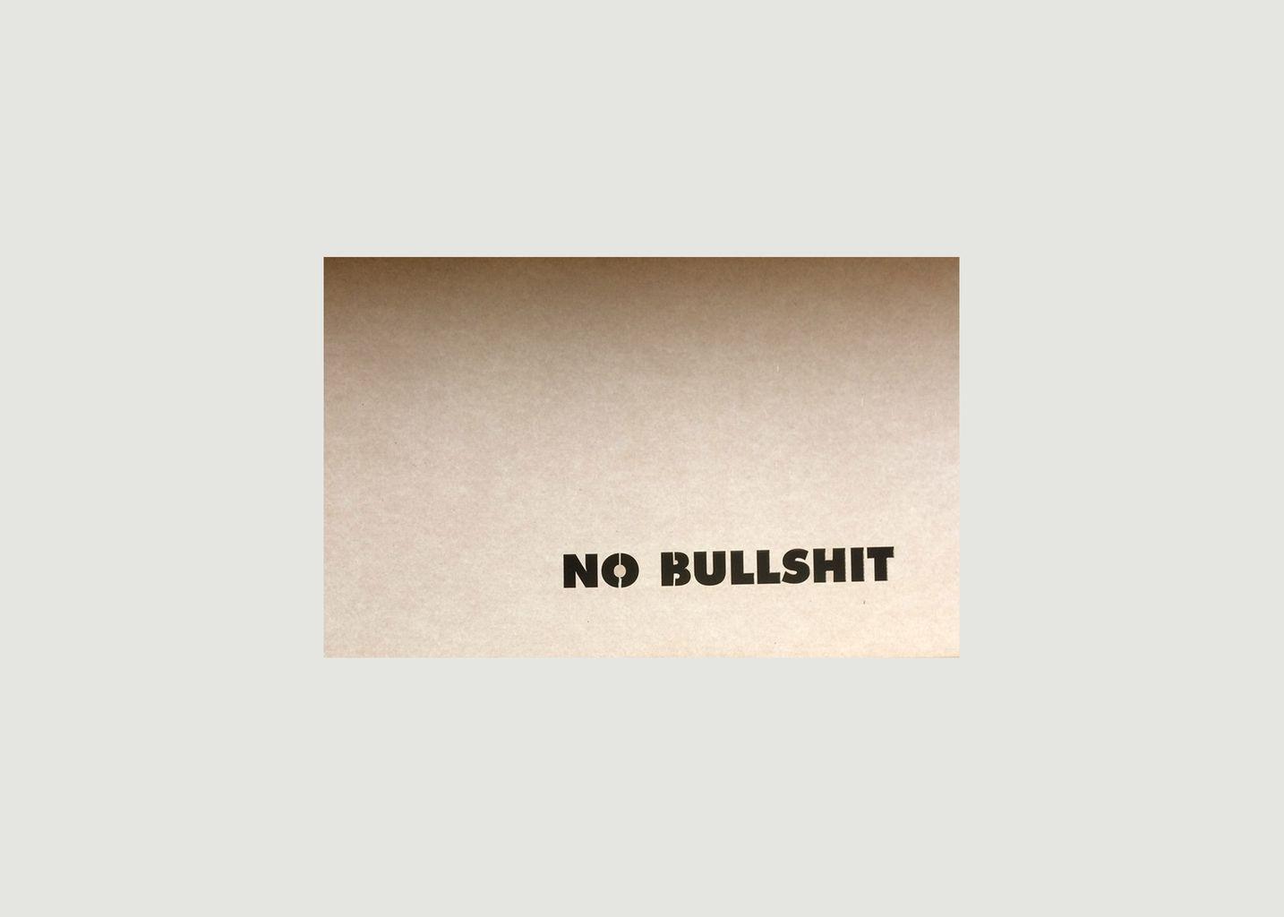 Coffret Box No Bullshit - Papette
