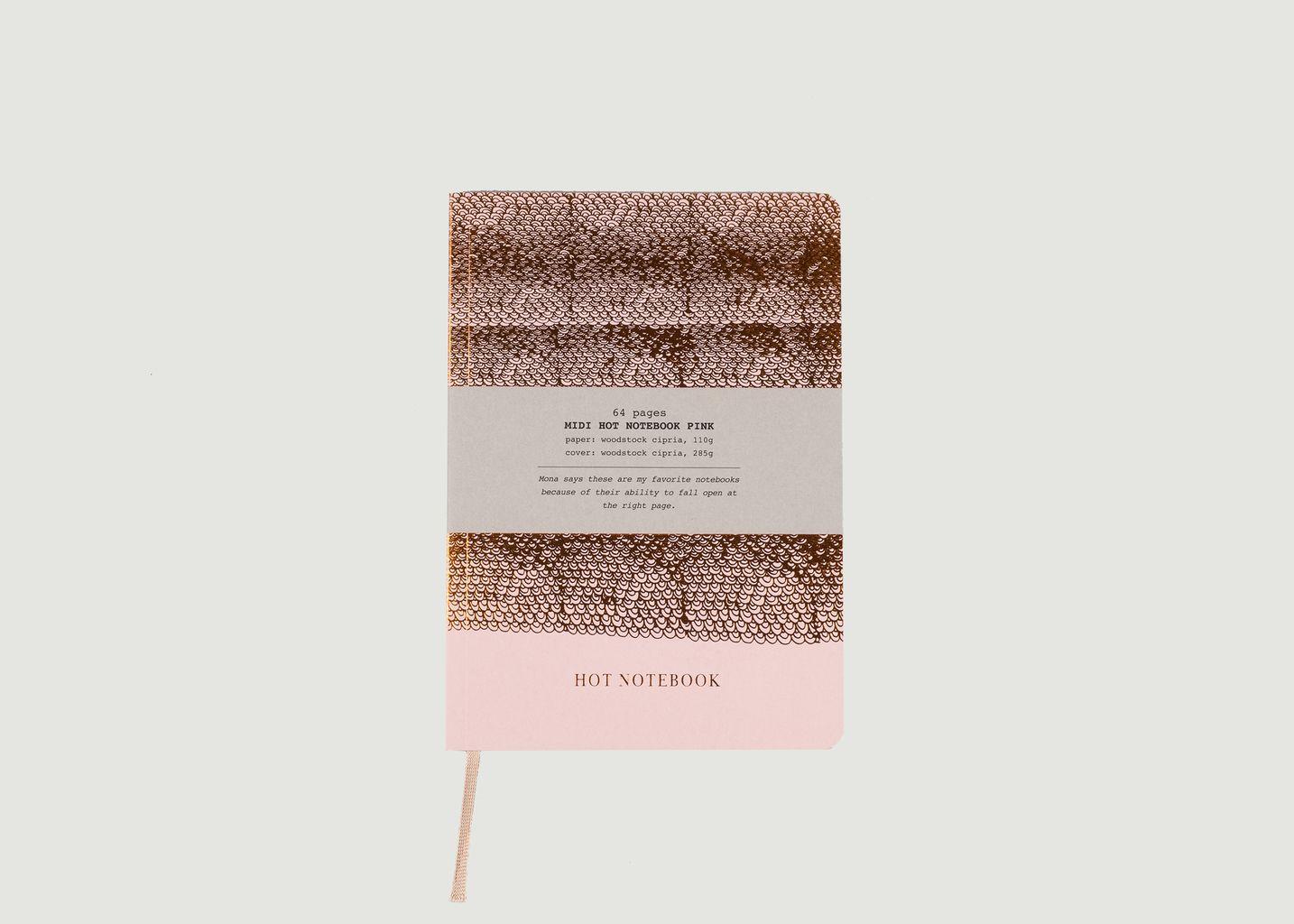 Hot Copper A5 Notebook - Papette