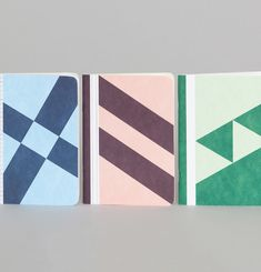 The 3 Diagonals Notebooks
