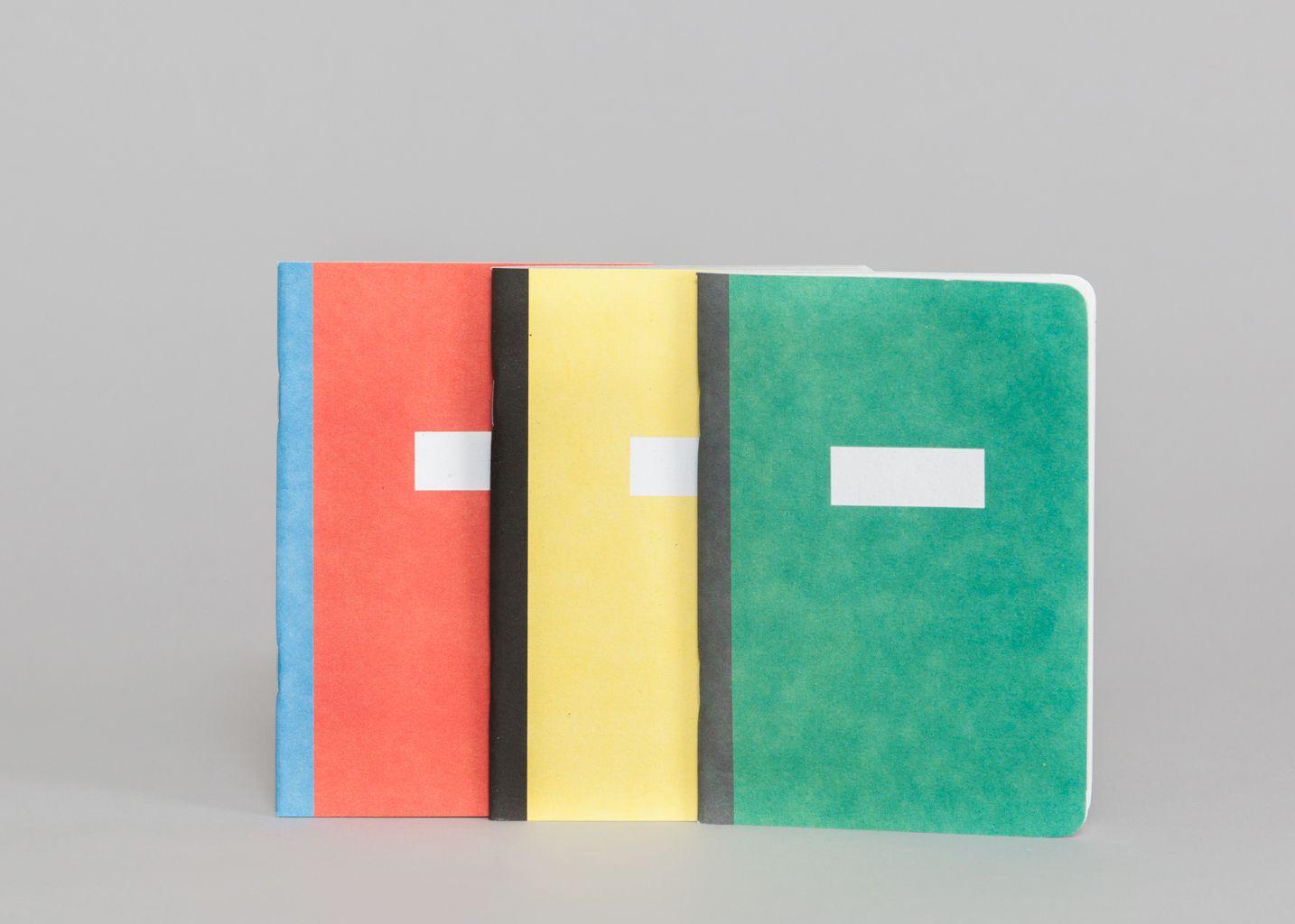 Carnets Les 3 Unis - Papier Tigre