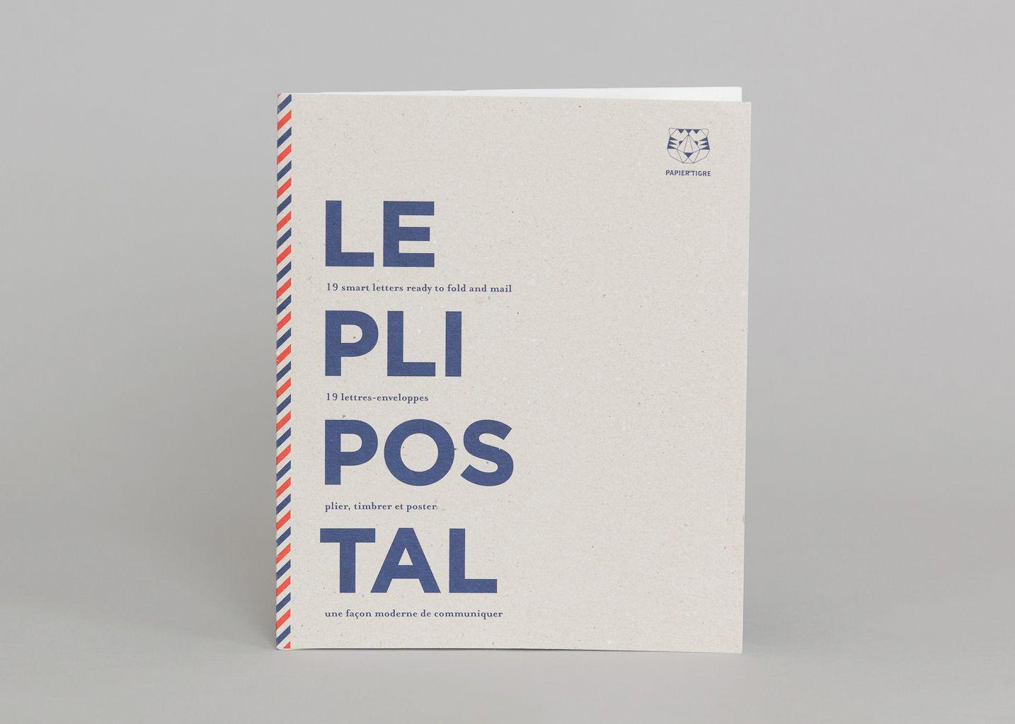 Le Pli Postal - Papier Tigre