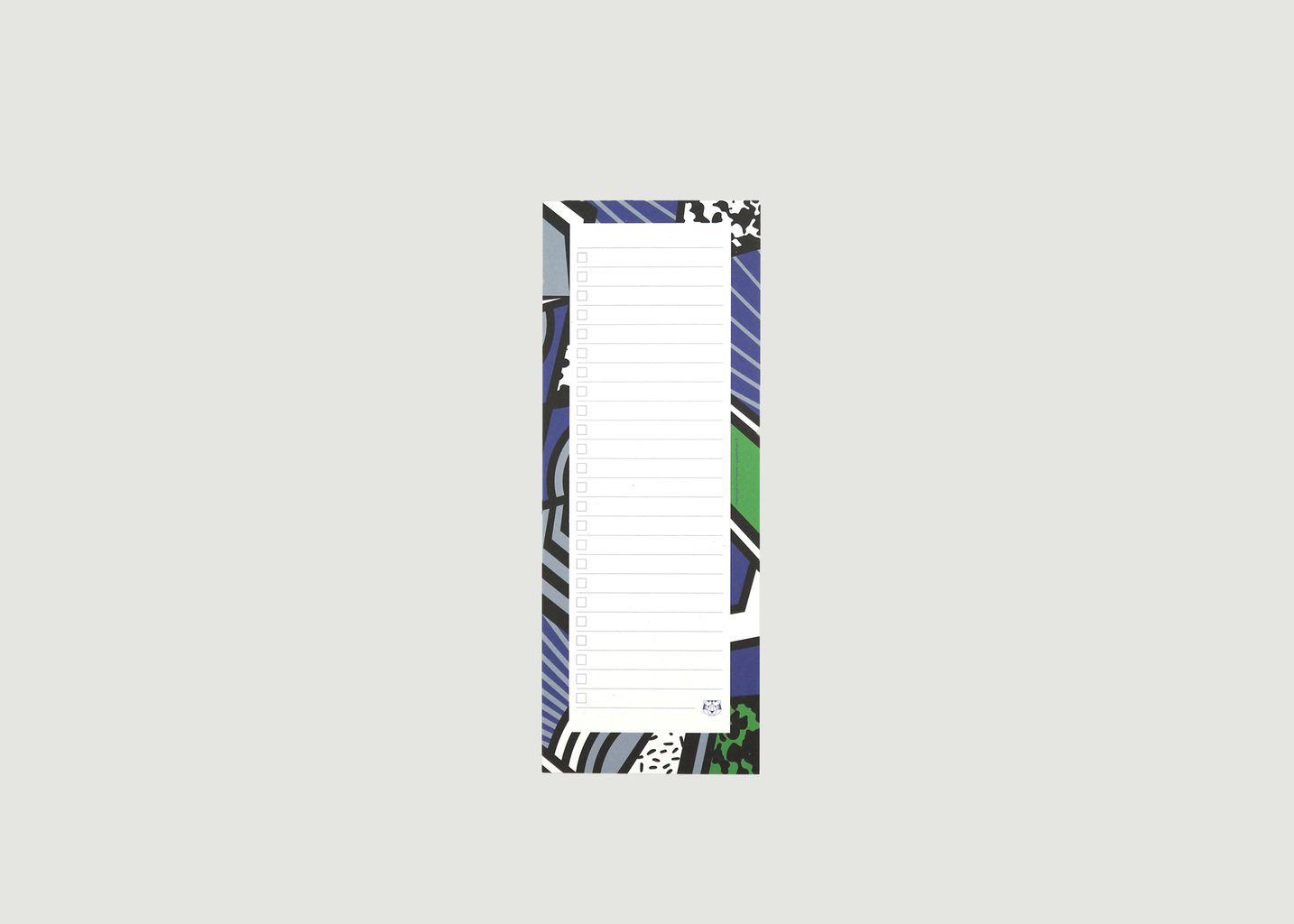 Bloc-Notes To-Do Liste Le Patchwork - Papier Tigre