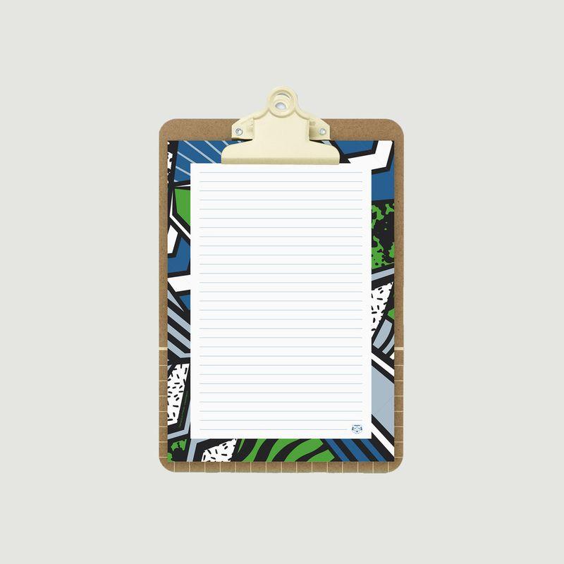 Bloc-Notes Medium Le Patchwork - Papier Tigre
