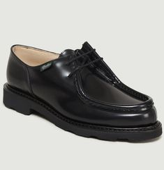 Michael Gloss Leather Derbies