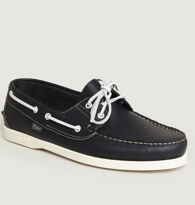 Chaussures Bateau En Cuir Barth
