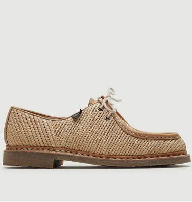 Chaussure Michael Raffia