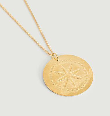Collier médaille vermeil Étoile