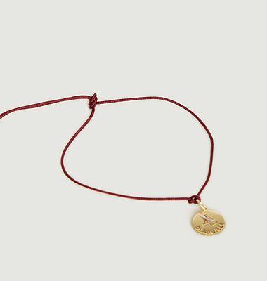 Bracelet médaille Voyage Deauville