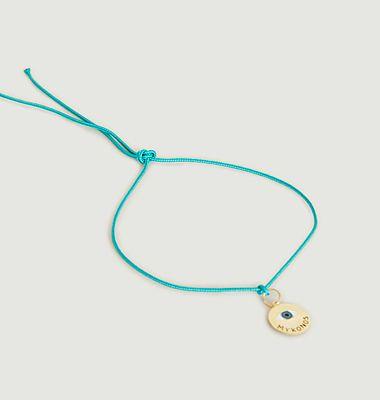 Bracelet médaille Voyage Mykonos