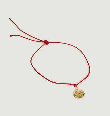 Bracelet médaille Voyage Saint-Tropez
