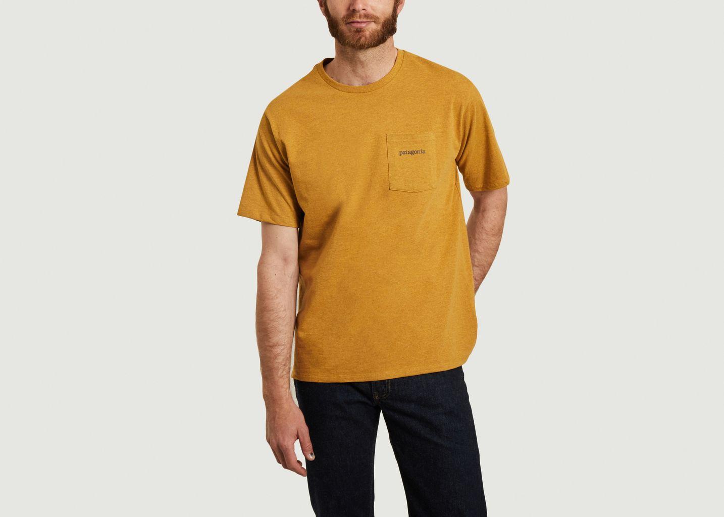 T-shirt P-6 Responsibili-tee - Patagonia