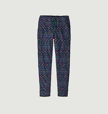 Snap-T fancy pattern fleece pants