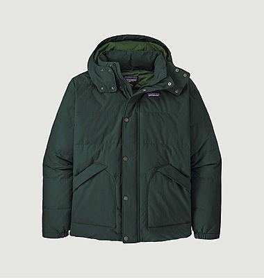 Downdrift hooded short down jacket