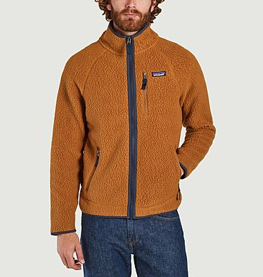 Retro Pile Fleece Jacke