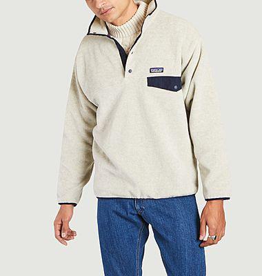 Snap-T high collar fleece jacket