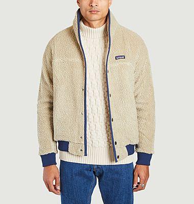 Retro X high collar fleece jacket