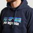 matière Hoodie P-6 Logo Uprisal - Patagonia