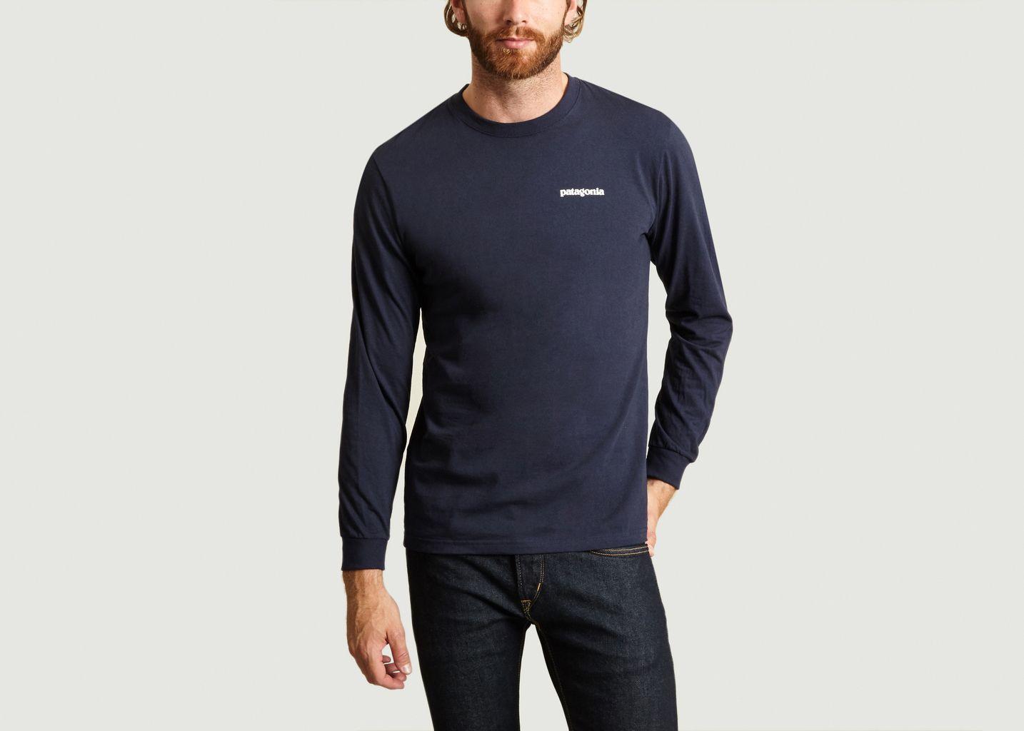T-Shirt ML Patagonia P-6 - Patagonia