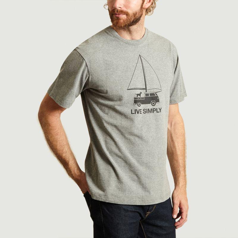 T-Shirt Live Simply - Patagonia