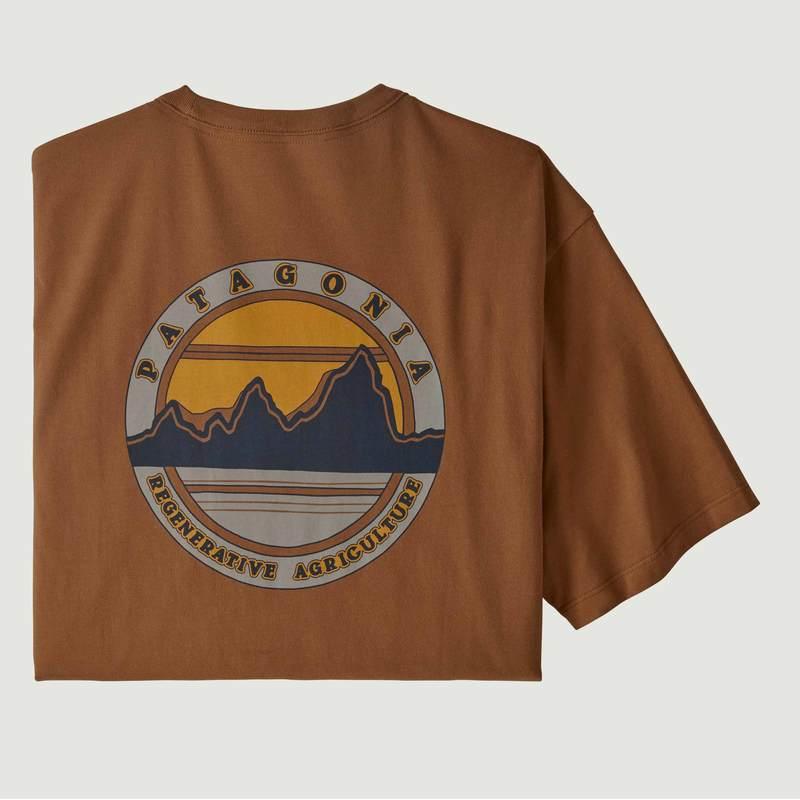 T-shirt Road to Regenerative - Patagonia