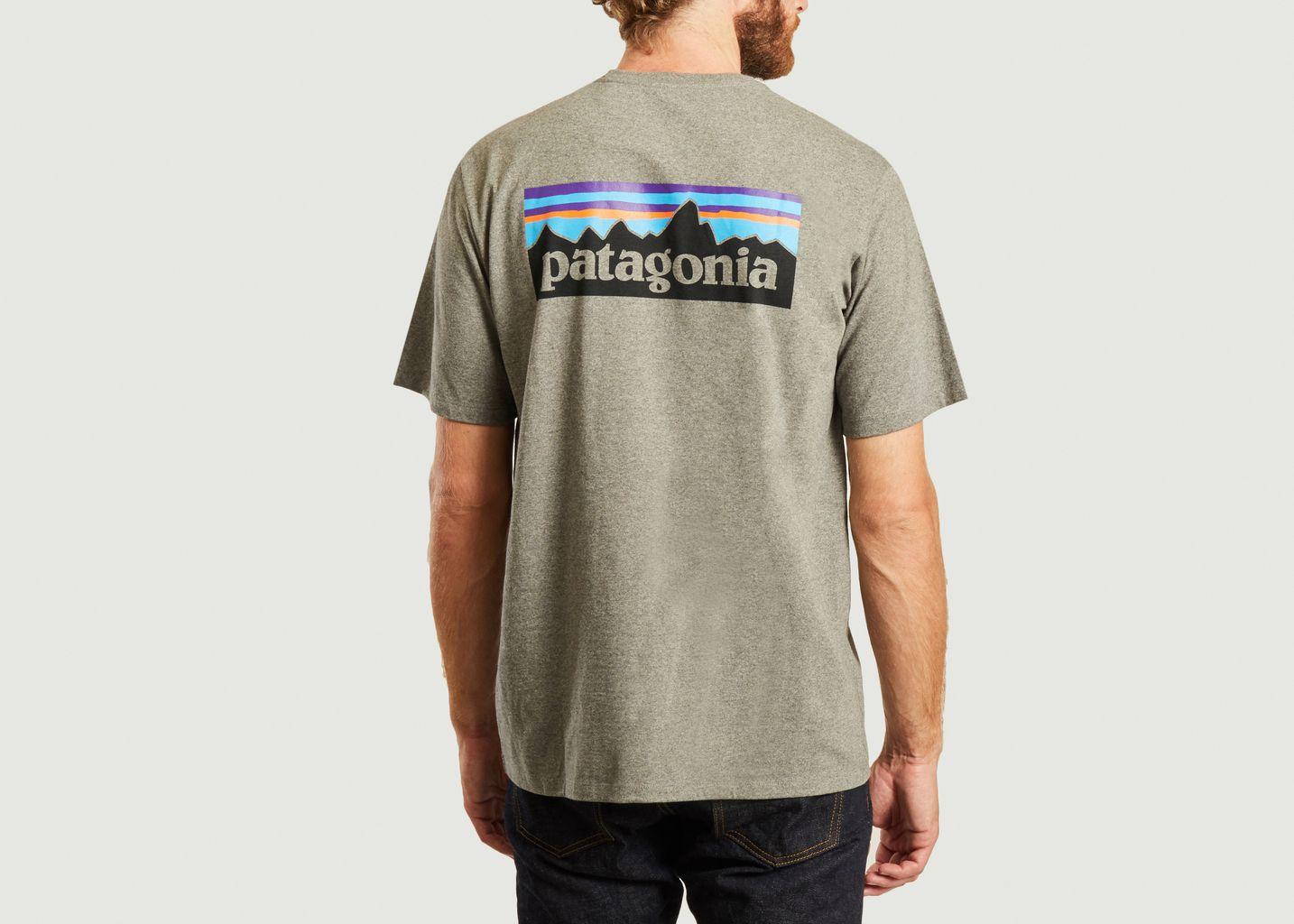 T-shirt P6 logo - Patagonia