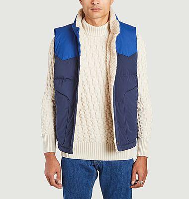 Bivy reversible sleeveless fleece down jacket