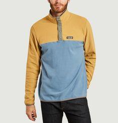 Sweatshirt polaire micro D Snap