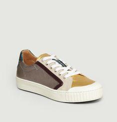 Sneakers X-Delta Run Laminato Velours