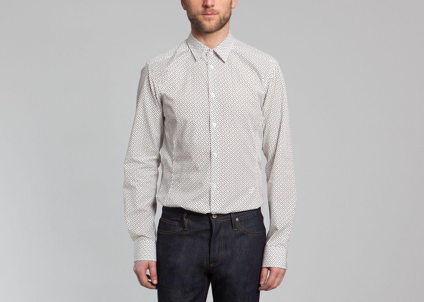 chemise xfour paul joe blanc l 39 exception. Black Bedroom Furniture Sets. Home Design Ideas