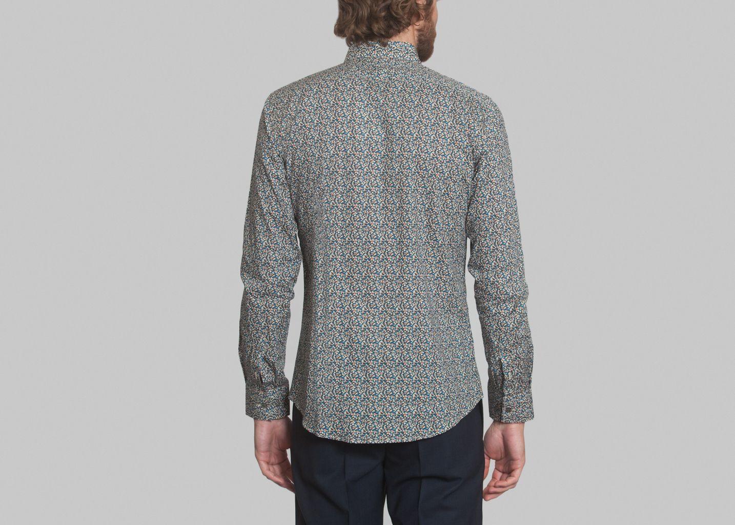 chemise tonbleu paul joe marron l 39 exception. Black Bedroom Furniture Sets. Home Design Ideas