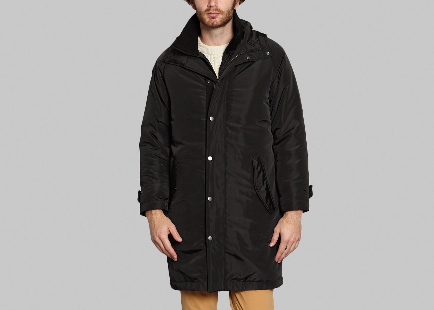 cd848396e4e851 Soldes Parka Sherpa Noir Paul   Joe à -50%   L Exception