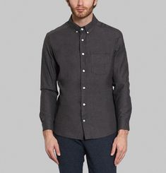 Button Collar Shirt