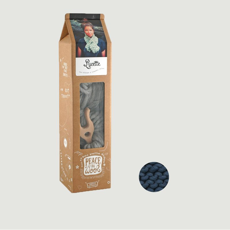 Kit Lucette Tricot Echarpe - Peace and Wool