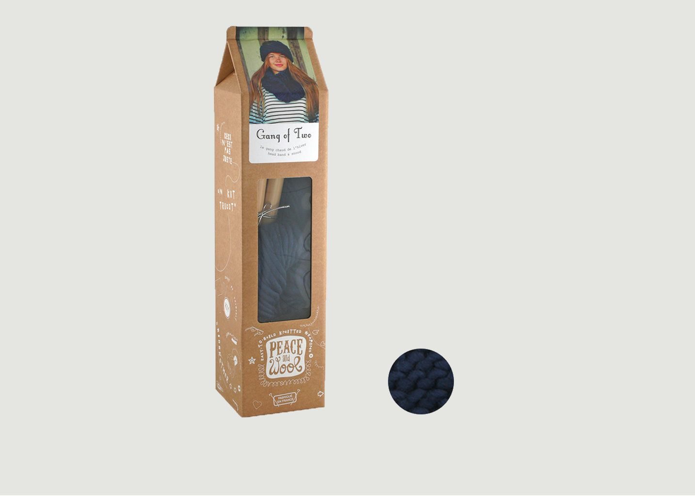 Kit Gang of Two Snood et Headband - Peace and Wool
