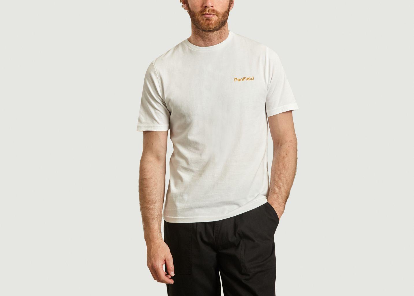 T-shirt en coton bio Wallpole - Penfield