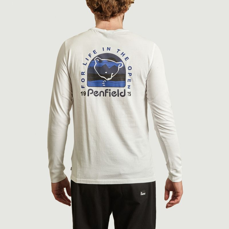 T-shirt manches longues en coton bio Dedham - Penfield