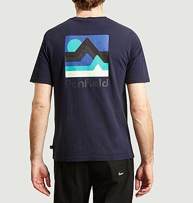 T-shirt en coton bio Wallpole