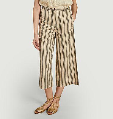 Pantalon rayé Shauna